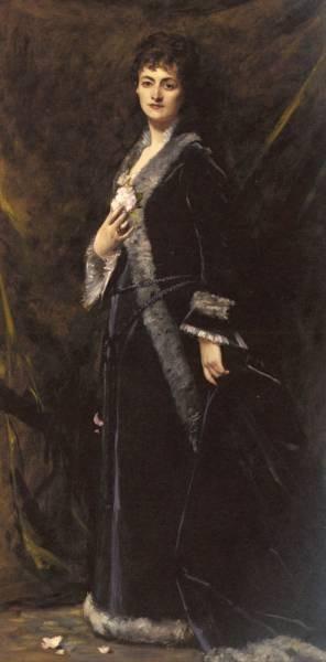 Duran Emile Auguste Carolus A Portrait Of Helena Modjeska Chlapowski